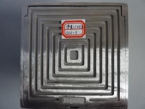 方实心地漏square drain